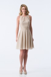 Bridesmaids Dresses - BM067 - $155 - Short chiffon dress by Kanali K.